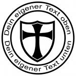 Geocaching Stempel Templar Tempelritter