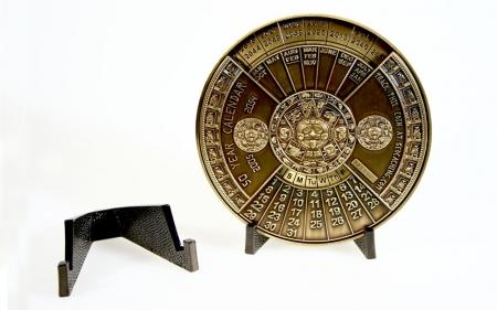 50 Years Calendar mit Coinständer