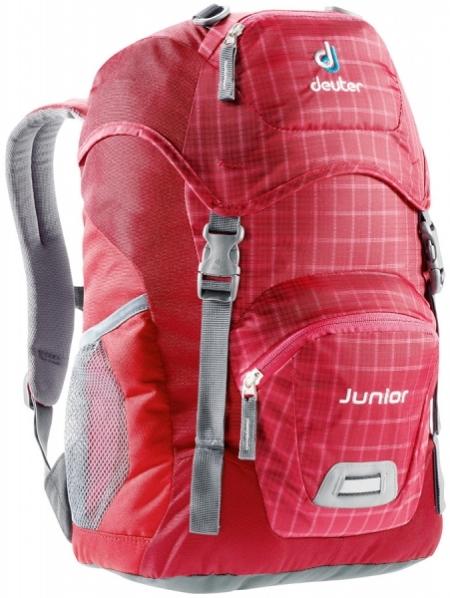 Deuter Rucksack Junior Raspberry-Check