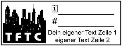 Geocaching Stempel TFTC Urban 09