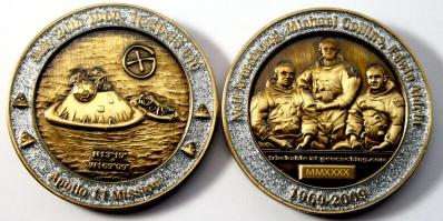 20 Years Man on the Moon - Earth Geocoin
