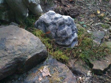 Extragroßes Steinversteck
