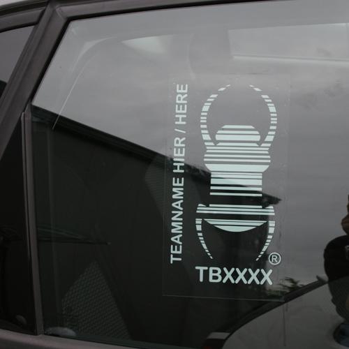 travelbug mit Teamname
