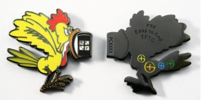 Chicken FTF Geocoin