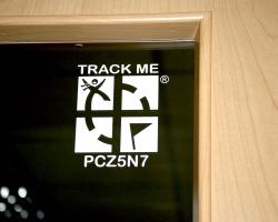 Geocaching trackbar