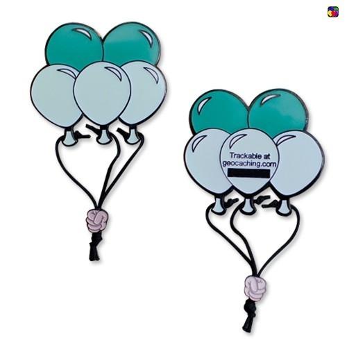 Luftballon Geocoin