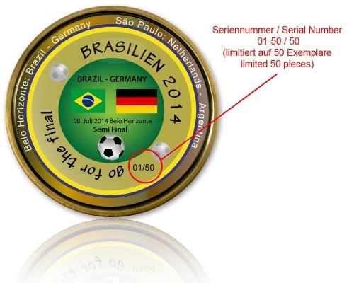 2014 Brasilien - Halbfinale