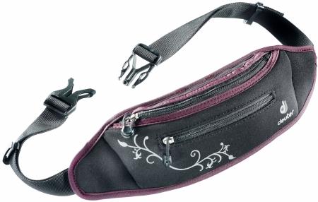 Deuter Hüfttasche Neo-Belt I Black-Aubergine