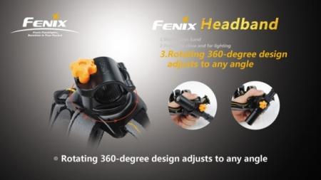 Fenix Headband - Stirnband für Taschenlampen