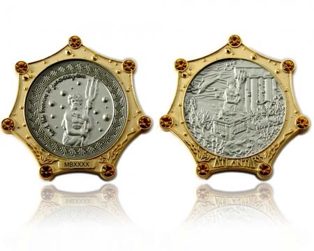 Atlantis Geocoin Gold / Silber LE