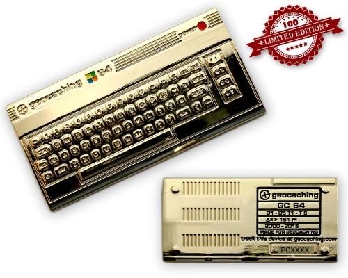C64 Geocoin Gold Edition LE 100