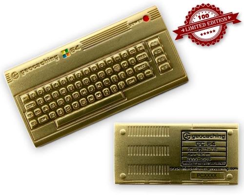C64 Geocoin Luxus Edition LE 100