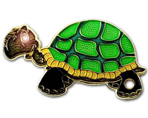Geoturtle - Schildkrötengeocoin-Erna