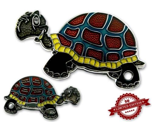 Schildkröte Geocoin