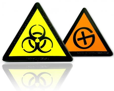 Highly Infective Geocoin Black Nickel Orange XLE 75