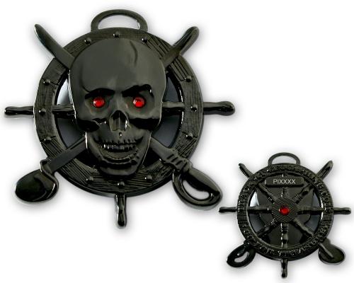 Piraten Geocoin Black Version