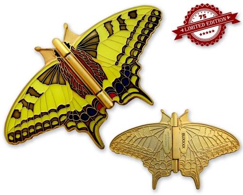 Limitierter Schmetterling Geocoin