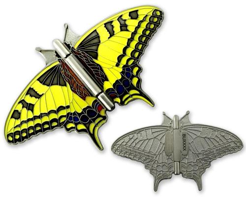 Schmetterling Geocoin