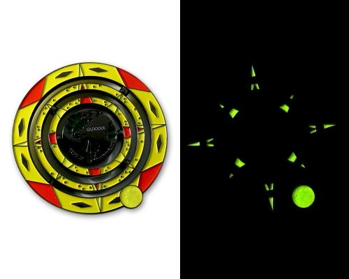 Geocaching Universe Geocoin Glow in the Dark!