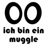 Geocaching T-Shirt Ich bin ein Muggle Design