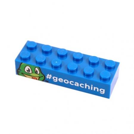 Signal the Frog Lego Baustein blau