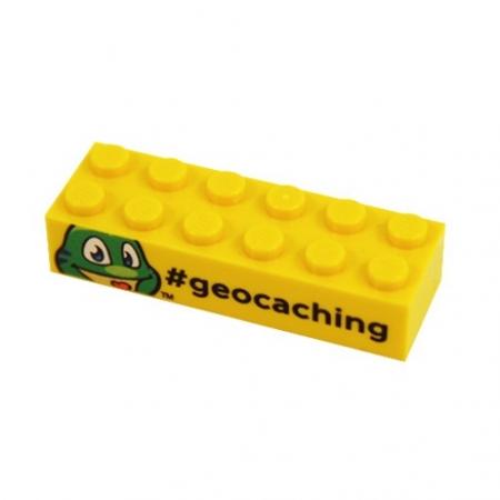 Signal the Frog Lego Baustein gelb