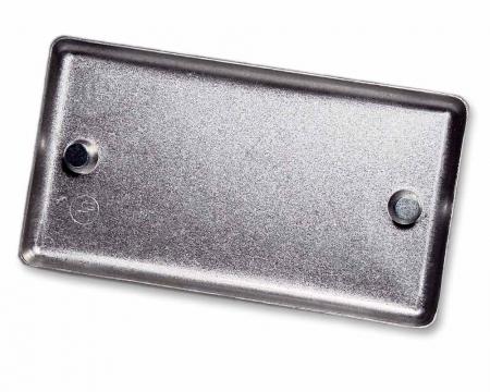 Magnetische Metallabdeckung hinten