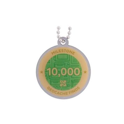 Milestone Geocoin - 10000 Finds