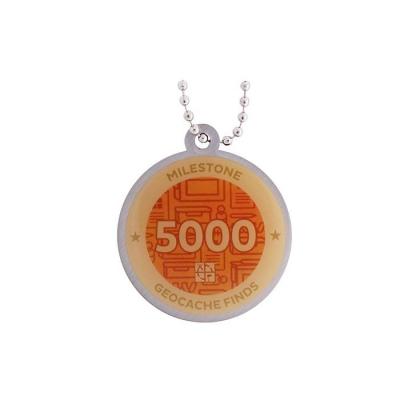 Milestone Geocoin - 5000 Finds