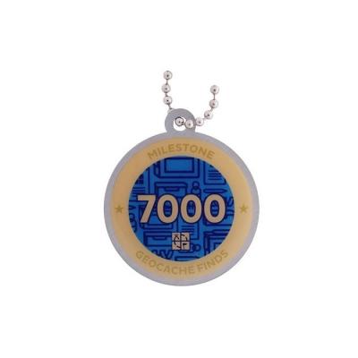 Milestone Geocoin - 7000 Finds
