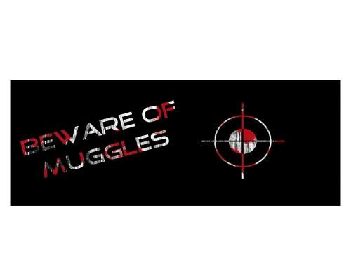 Tasse Beware of Muggles #3