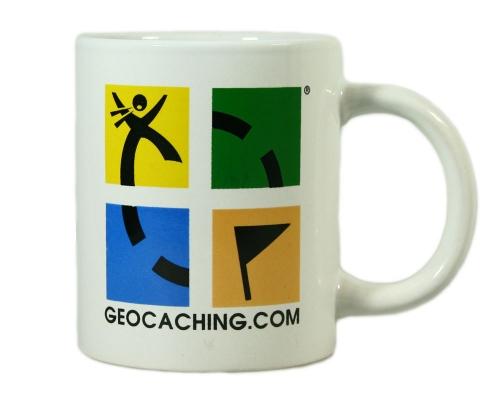 Geocaching.com Logo Tasse