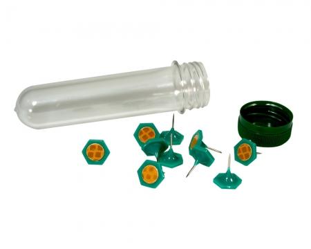 Feuerpunkt Geocaching Reflektor grün inkl. PETling