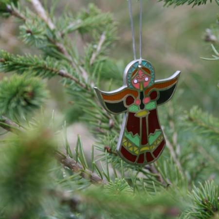Christmas Angel Geocoin Baumschmuck #1