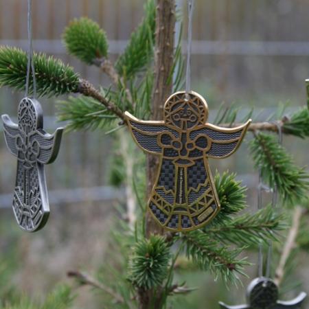Christmas Angel Geocoin Baumschmuck #2