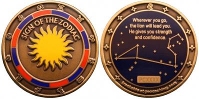 Sign of the Zodiac Geocoin