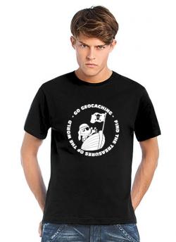 Geocaching T-Shirt Pirat Signal the Frog schwarz