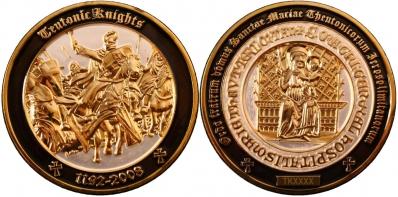 Teutonic Knights Geocoin