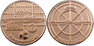U-Boat Geocoin