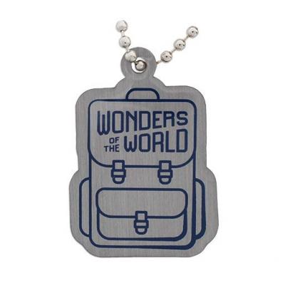 Weltwunder Travel Tag