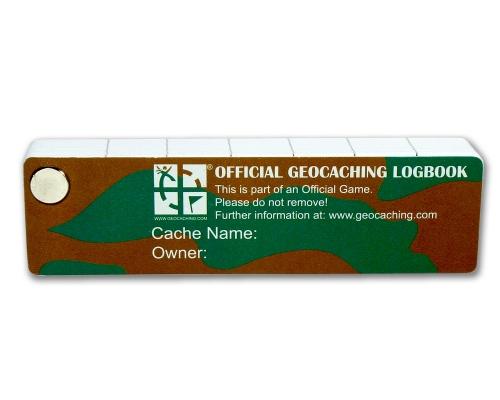 XXL Geocaching Pet-Logbuch Vorderseite